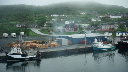 The dock at St. Anthony, Newfoundland