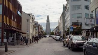 Hallgrímskirkja church is Reykjavík