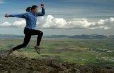 Ihila flying over Mt. Esja