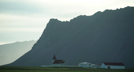 on the southwest coast of Iceland
