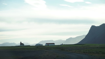 On the southwest coast of Iceland.